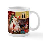 Santa's Ital Greyhound Mug