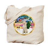 XmasMagic/Spinone #11 Tote Bag