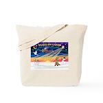 XmasSunrise/Lakeland T Tote Bag