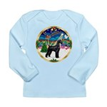 XmasMusic 2MC/Lab Pup (blk) Long Sleeve Infant T-S