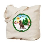 Take Off1/Lab (choc) Tote Bag