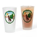 Take Off1/Lab (choc) Drinking Glass