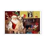 Santa's Lab (Y-lap) 22x14 Wall Peel