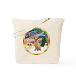 XmasMagic/Lab (yllow) Tote Bag