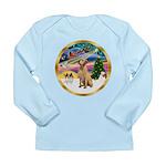 XmasMagic/Lab (yllow) Long Sleeve Infant T-Shirt