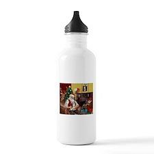 Santa's Lhasa Apso Water Bottle