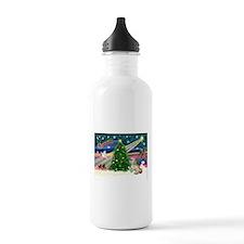 XmasMagic/ Lhasa Apso Water Bottle