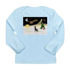 Night Flight/Manchester Long Sleeve Infant T-Shirt