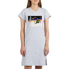 XmasSigns/Old English #3 Women's Nightshirt