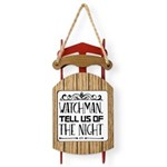 Night Flight/Poodle Std(choc) Thermos Food Jar