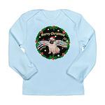 XmasMusic2MC/ Pug 11 Long Sleeve Infant T-Shirt