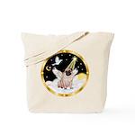 Night Flight/ Pug Tote Bag