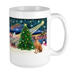 XmasMagic/Rhodesian RB Large Mug