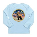 XmasStar/Schnauzer G Long Sleeve Infant T-Shirt