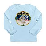 XmasSunrise/Shih Tzu Long Sleeve Infant T-Shirt