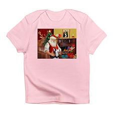 Santa's Sib Husky Infant T-Shirt