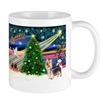 Xmas Magic & Silky Terrier Mug