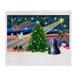XmasMagic/TibetanTer 5 Throw Blanket