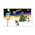 XmasSigns/Corgi Pup (Z) 22x14 Wall Peel