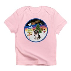 XmasSigns/Corgi Pup (Z) Infant T-Shirt