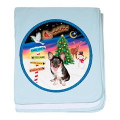 XmasSigns/Corgi Pup (Z) baby blanket