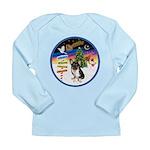 XmasSigns/Corgi Pup (Z) Long Sleeve Infant T-Shirt