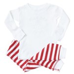 Santa's 2 Corgis (P1) Organic Women's T-Shirt