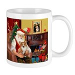 Santa's Corgi (#3P) Mug