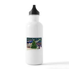 XmasMagic/Corgi (5C) Water Bottle