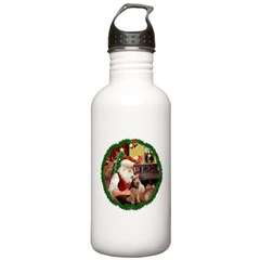 Santa's Welsh T Stainless Water Bottle 1.0L