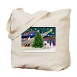 Xmas Magic & Westie Tote Bag