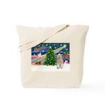 XmasMagic/Wheaten (#5) Tote Bag
