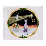 Wisemen/Whippet #8 Throw Blanket