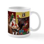 Santa's Whippet Mug