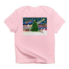 Xmas Magic & Whippet Infant T-Shirt