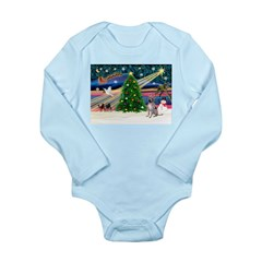XmasMagic/Xolo (#2) Long Sleeve Infant Bodysuit