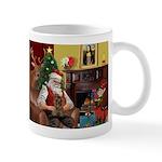 Santa's Yorkie (#11) Mug