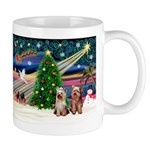 XmasMagic/2 Yorkies Mug