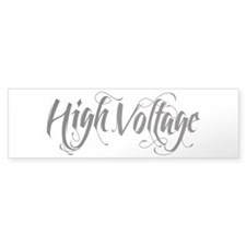 High Voltage Bumper Sticker
