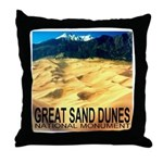 Great Sand Dunes National Mon Throw Pillow