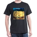 Great Sand Dunes National Mon Black T-Shirt