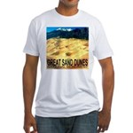 Great Sand Dunes National Mon Fitted T-Shirt