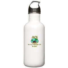 Lost Jack Quote Stainless Water Bottle 1.0L