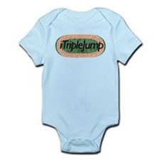 i Triple Jump Track and Field Infant Bodysuit