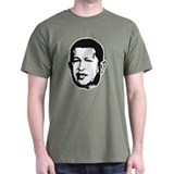 Hugo Chavez Black T-Shirt