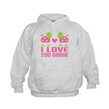 I Love 2nd Grade Gift Hoody