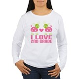I Love 2nd Grade Gift T-Shirt
