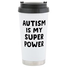 Autism Superpower Ceramic Travel Mug