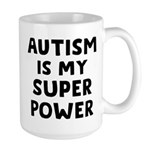 Autism Superpower Large Mug