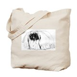 Pekingese in Profile Tote Bag